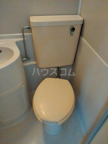 キャッスルイソベ 202号室のトイレ