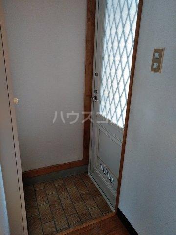 キャッスルイソベ 202号室の玄関