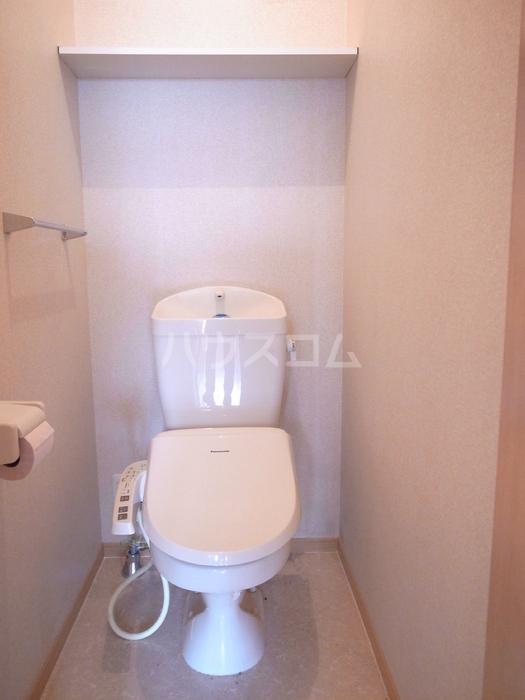 リヴェール 202号室のトイレ