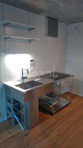 Solana Takanawadai 101号室のキッチン