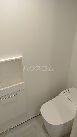 Solana Takanawadai 101号室のトイレ