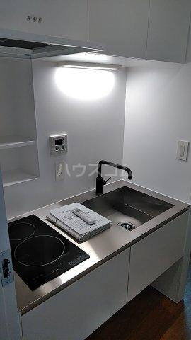 Solana Takanawadai 102号室のキッチン
