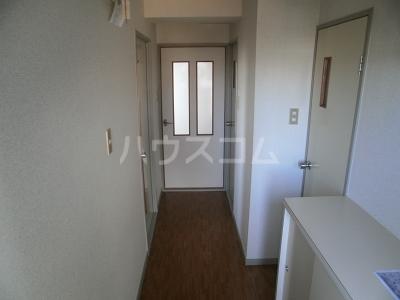 平成ビル 402号室の玄関