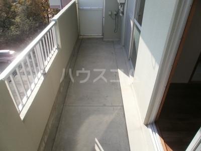 平成ビル 402号室のバルコニー