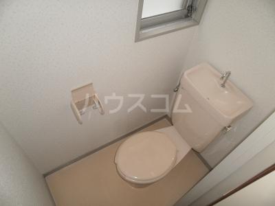 平成ビル 402号室のトイレ