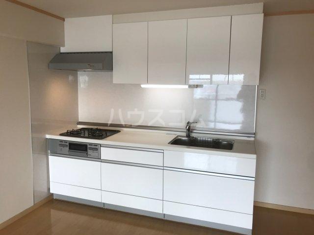コーポ白鳥 802号室のキッチン