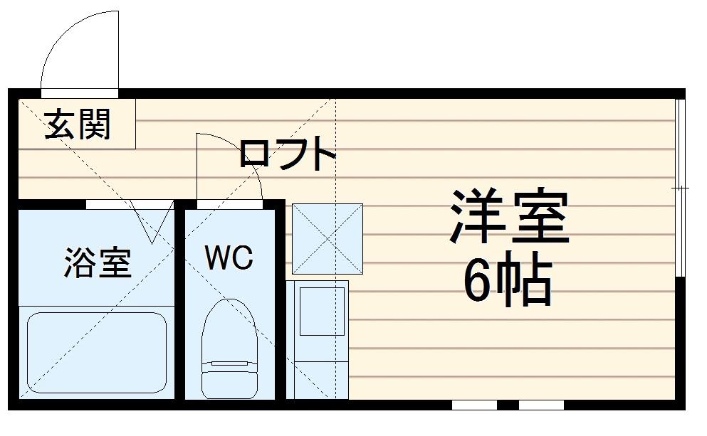 ユナイトステージ六浦壱番館・205号室の間取り