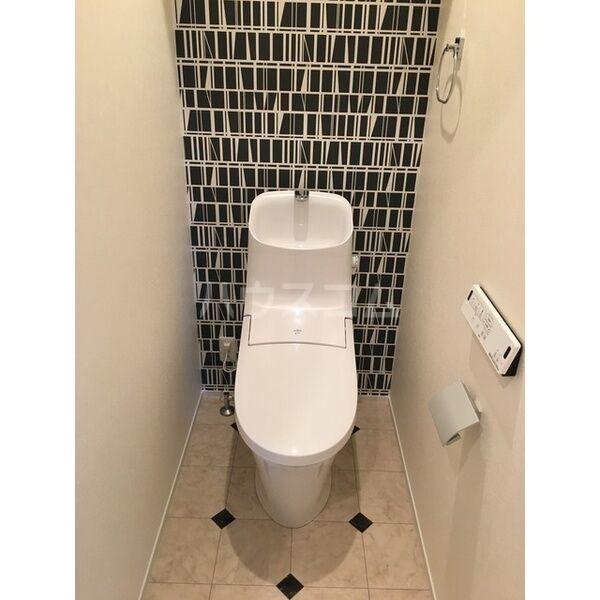 グランルーチェA 201号室のトイレ