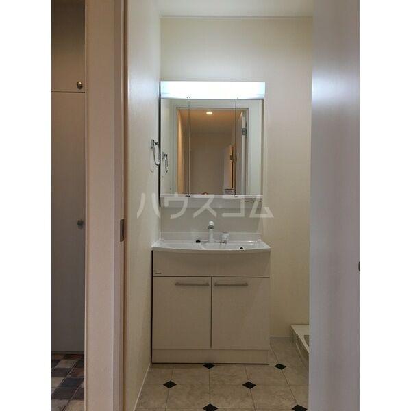 グランルーチェA 201号室の洗面所