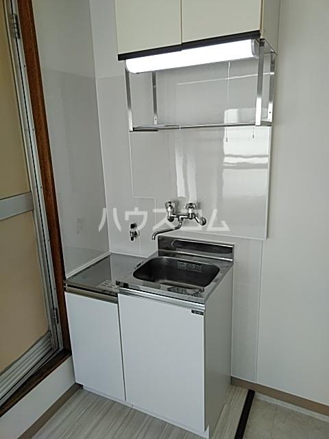 ハイムエル 202号室のキッチン