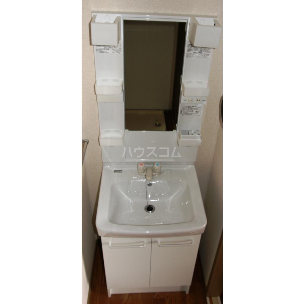 キャトルセゾン A 102号室の洗面所