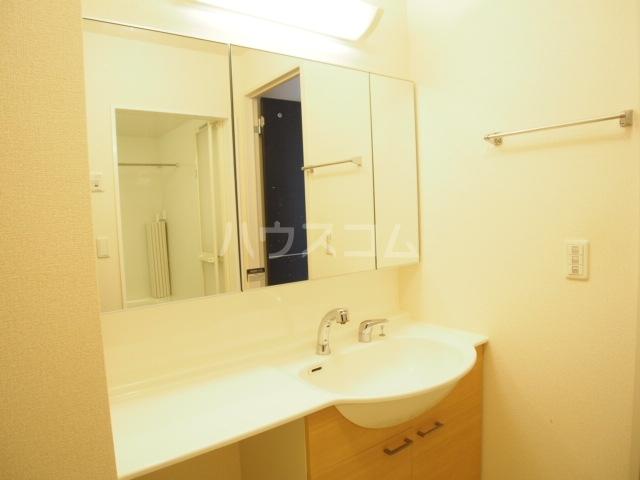 リバーサイド・ヒル 201号室の洗面所