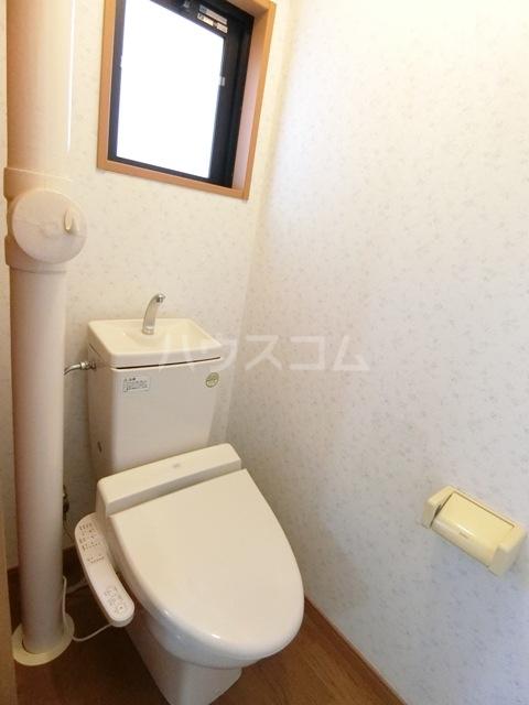 ヴェルゾン東公園 201号室のトイレ