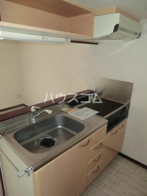 サン・ミズホビル 501号室のキッチン