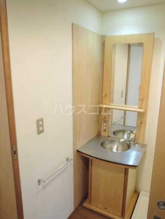 PLATEAU 203号室の洗面所
