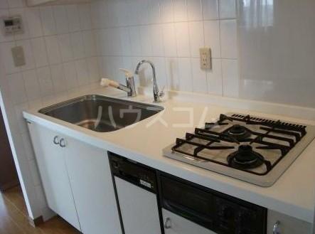 朝日白金台マンション 419号室のキッチン