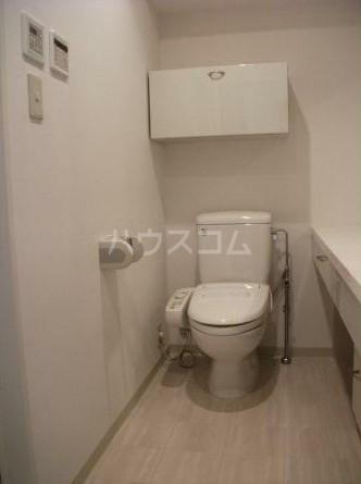 朝日白金台マンション 419号室のトイレ