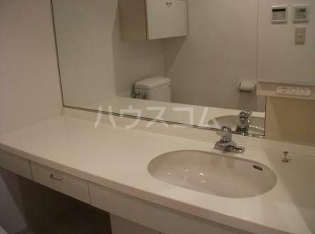 朝日白金台マンション 419号室の洗面所
