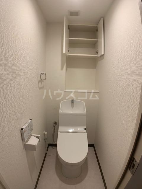 アンビシャスヒル船橋 204号室のトイレ