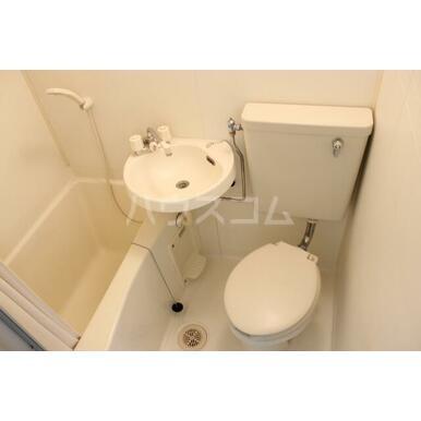 プリンスヒルB 108号室の風呂