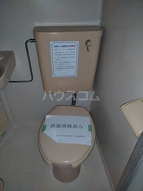 レジデンスGOOD 102号室のトイレ