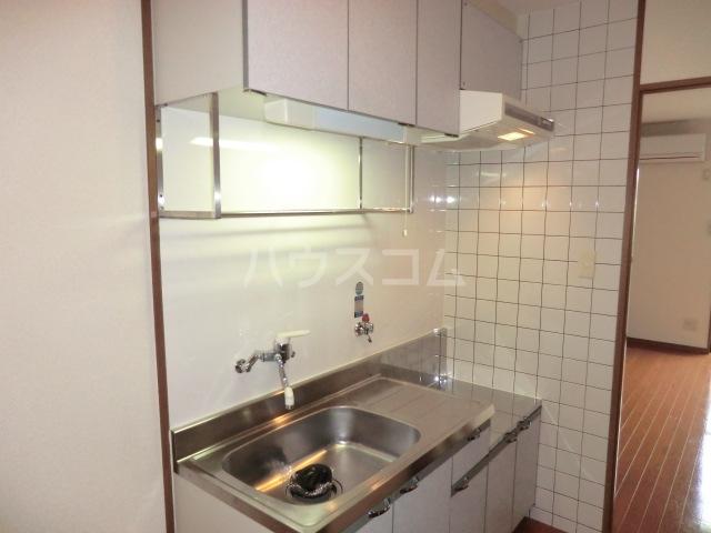 シエスタ 107号室のキッチン