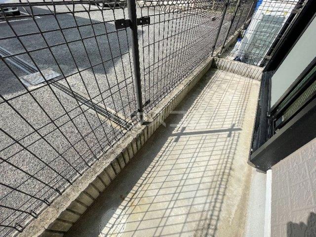 シエスタ 107号室のバルコニー