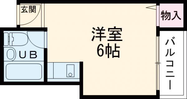 ラフォーレ小野原 201号室の間取り