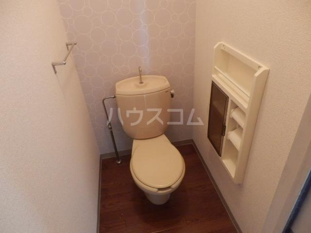ウエストパレスⅠ 203号室のトイレ