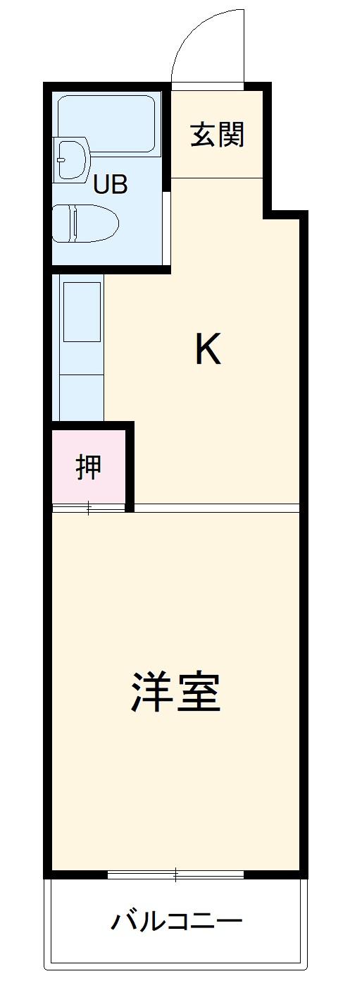 プレアール南福岡Ⅱ・402号室の間取り