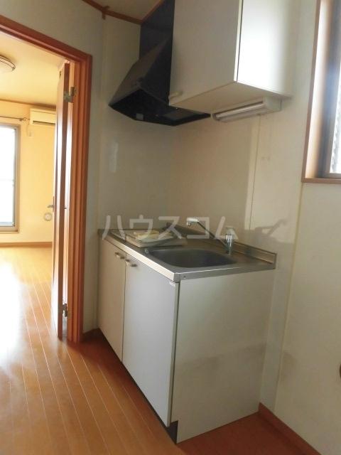 TwinGarden 0S302号室のキッチン