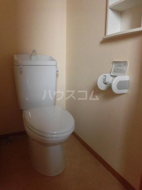 TwinGarden 0S302号室のトイレ