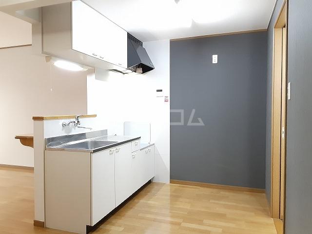 コートデューク 103号室のキッチン