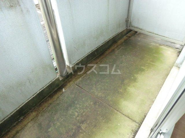 GAIA21 206号室のバルコニー
