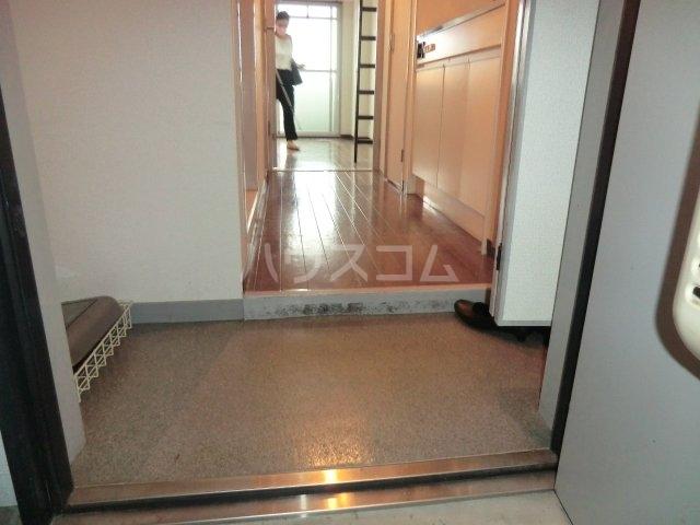 GAIA21 206号室の玄関