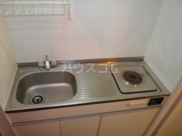 GAIA21 206号室のキッチン