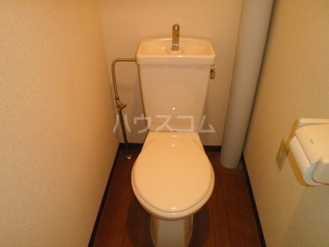GAIA21 206号室のトイレ