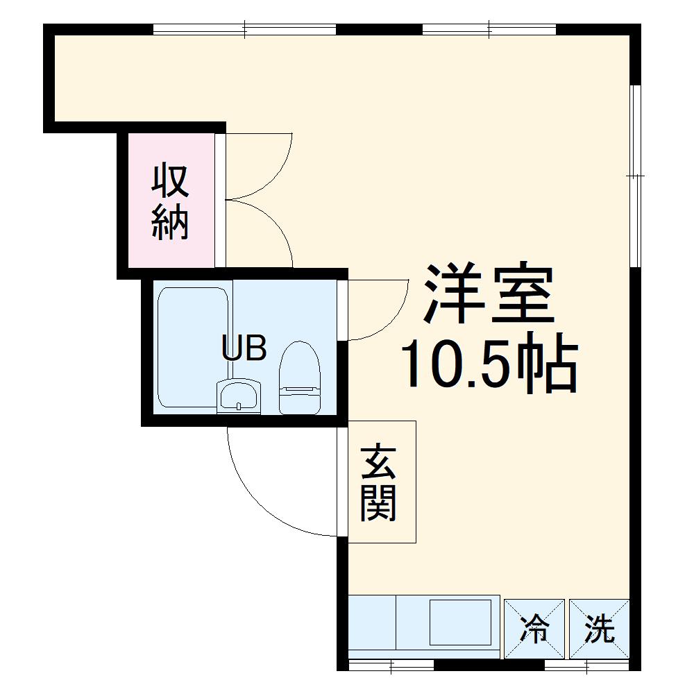 Kozy嵯峨嵐山・301号室の間取り