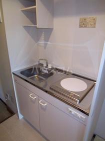 グレイスセントラルМ 403号室のキッチン
