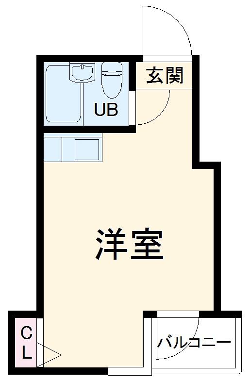 ウインベル川崎第10 202号室の間取り