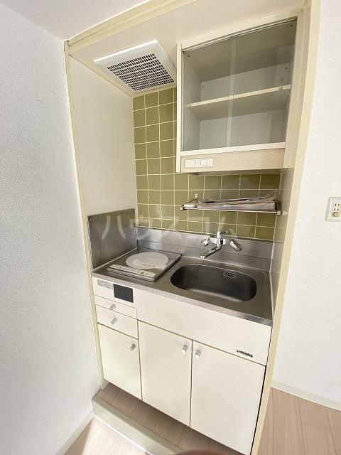 ウインベル川崎第10 202号室のキッチン