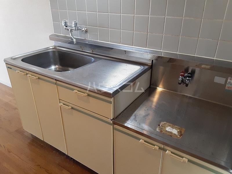 柏屋ビル 305号室のキッチン