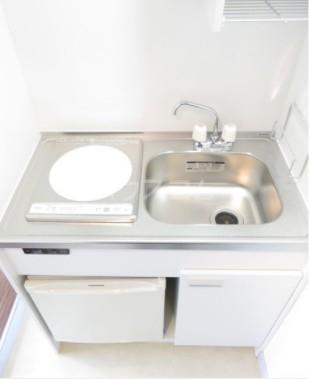 カルタス21池袋 203号室のキッチン