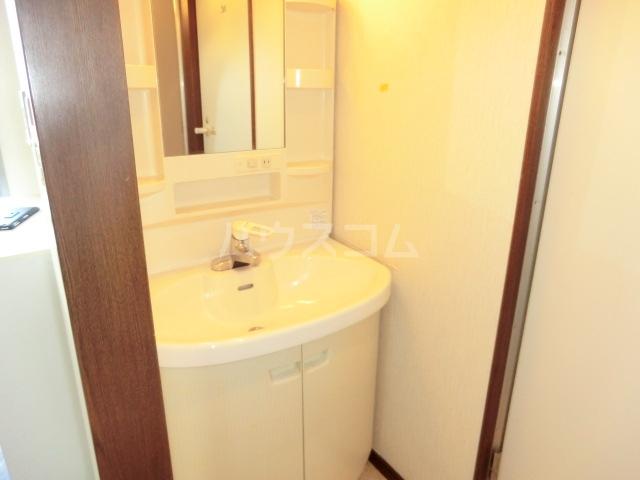 第一磯屋敷マンション 4C号室の洗面所