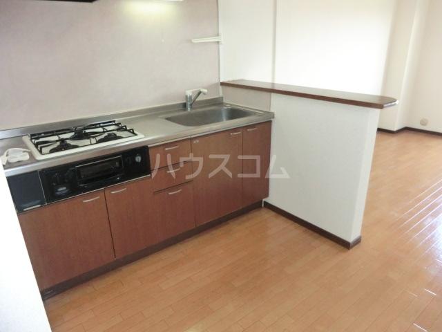 第一磯屋敷マンション 4C号室のキッチン
