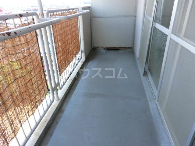第一磯屋敷マンション 4C号室のバルコニー