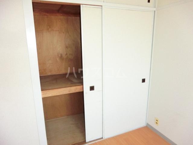 第一磯屋敷マンション 4C号室の収納