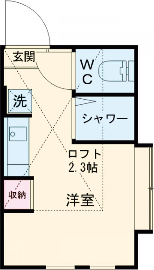 アーバンプレイス江古田の森・205号室の間取り