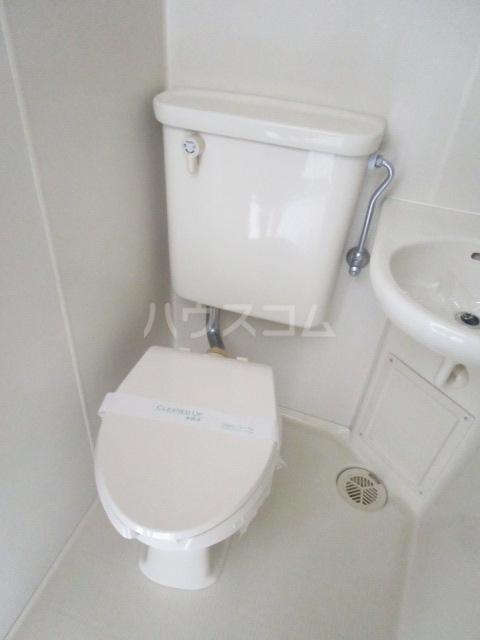 ウインベルソロ国分寺1 504号室のトイレ