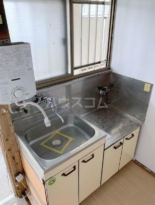 富士見コーポ 101号室のキッチン